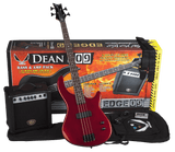 DEAN EDGE BASS PACK W/ AMP AND ACCESSORIES