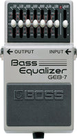 BOSS GEB-7 Bass Graphic Equalizer - 7 Band