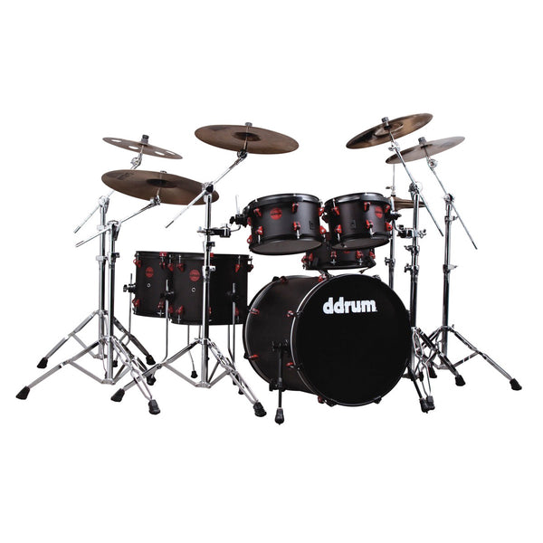 DDRUM HYBRID 6 PIECE KIT - BLACK