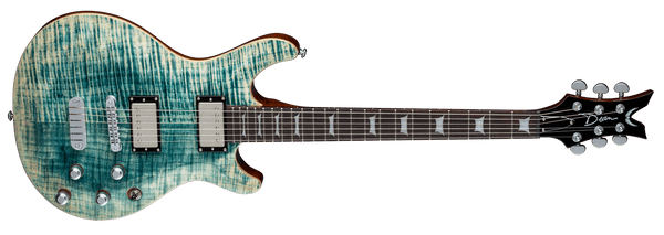 Dean  ICON FLAME TOP - FADED DENIM