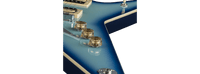 DEAN ML 79 BLUE BURST GUITAR