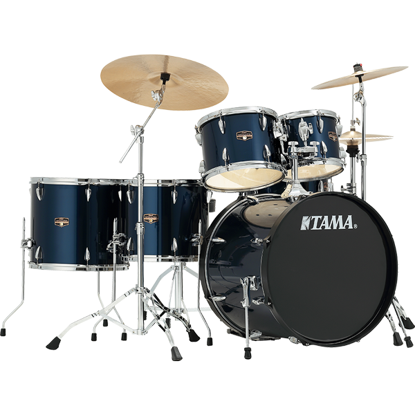 Tama Imperialstar Midnight Blue w/ Chrome Hardware 5 Piece