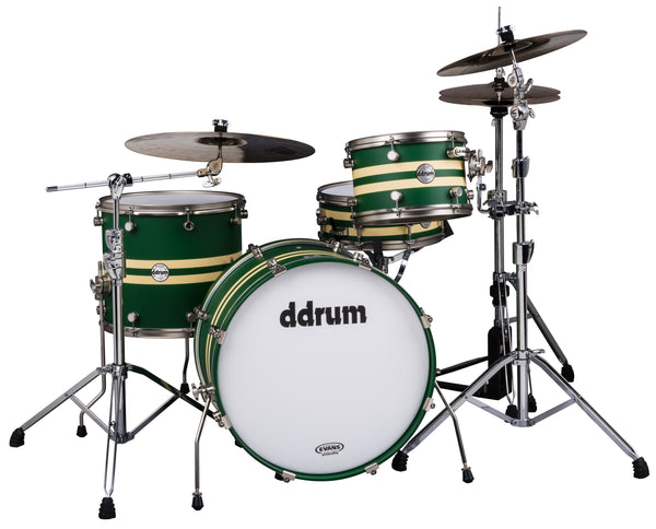 ddrum REFLEX RALLY SPORT 4 PIECE DRUM SET
