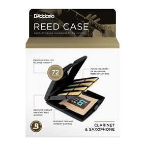 D'Addario Multi-Instrument Single Reed Storage Case
