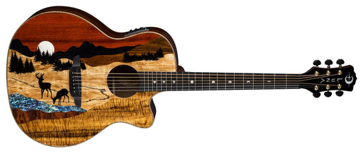 LUNA VISTA DEER TROPICAL WOOD A/E W/CASE