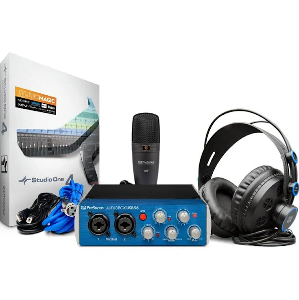 PreSonus AudioBox USB 96 Studio Complete Hardware/Software Recording Kit