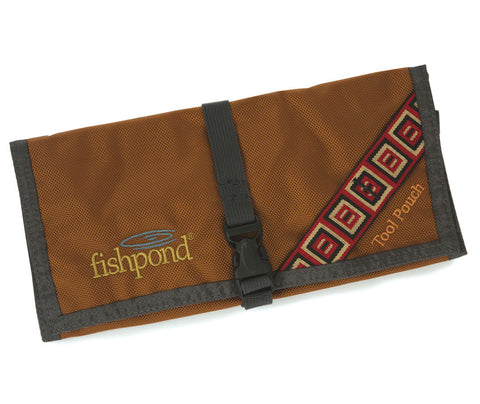 FISHPOND Flatiron Tool Pouch - Saddle Brown