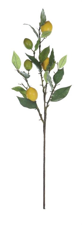 "26""H Faux Lemon Tree Branch"