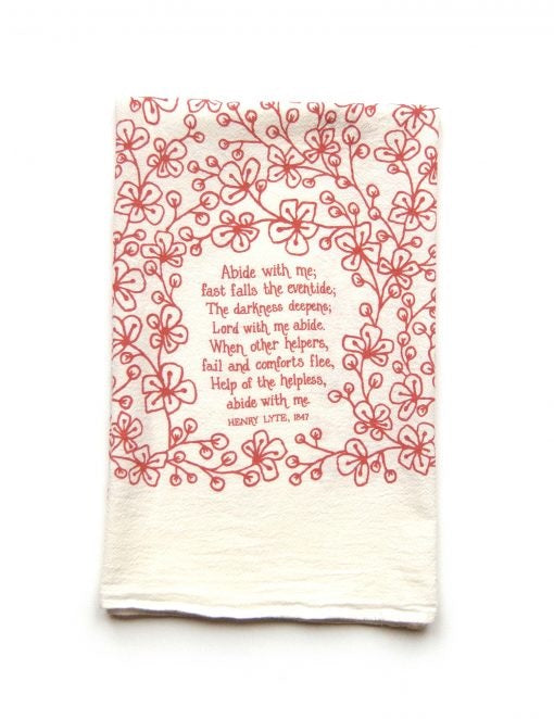Hymn Tea Towel (More Style Options)
