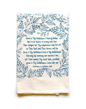 Load image into Gallery viewer, Hymn Tea Towel (More Style Options)