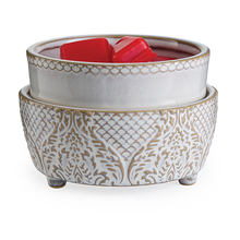 Load image into Gallery viewer, Vintage White Classic 2 in 1 Fragrance Warmer