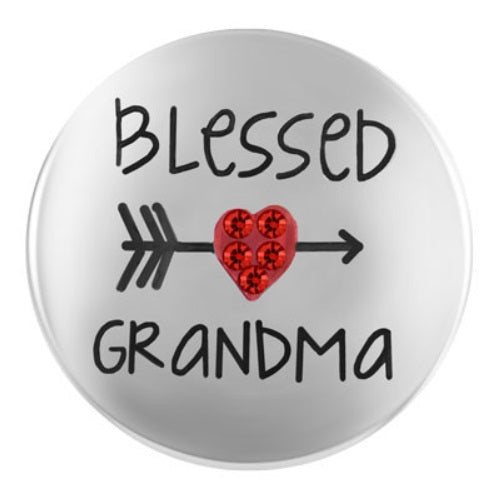 Heart Blessed Grandma Snap