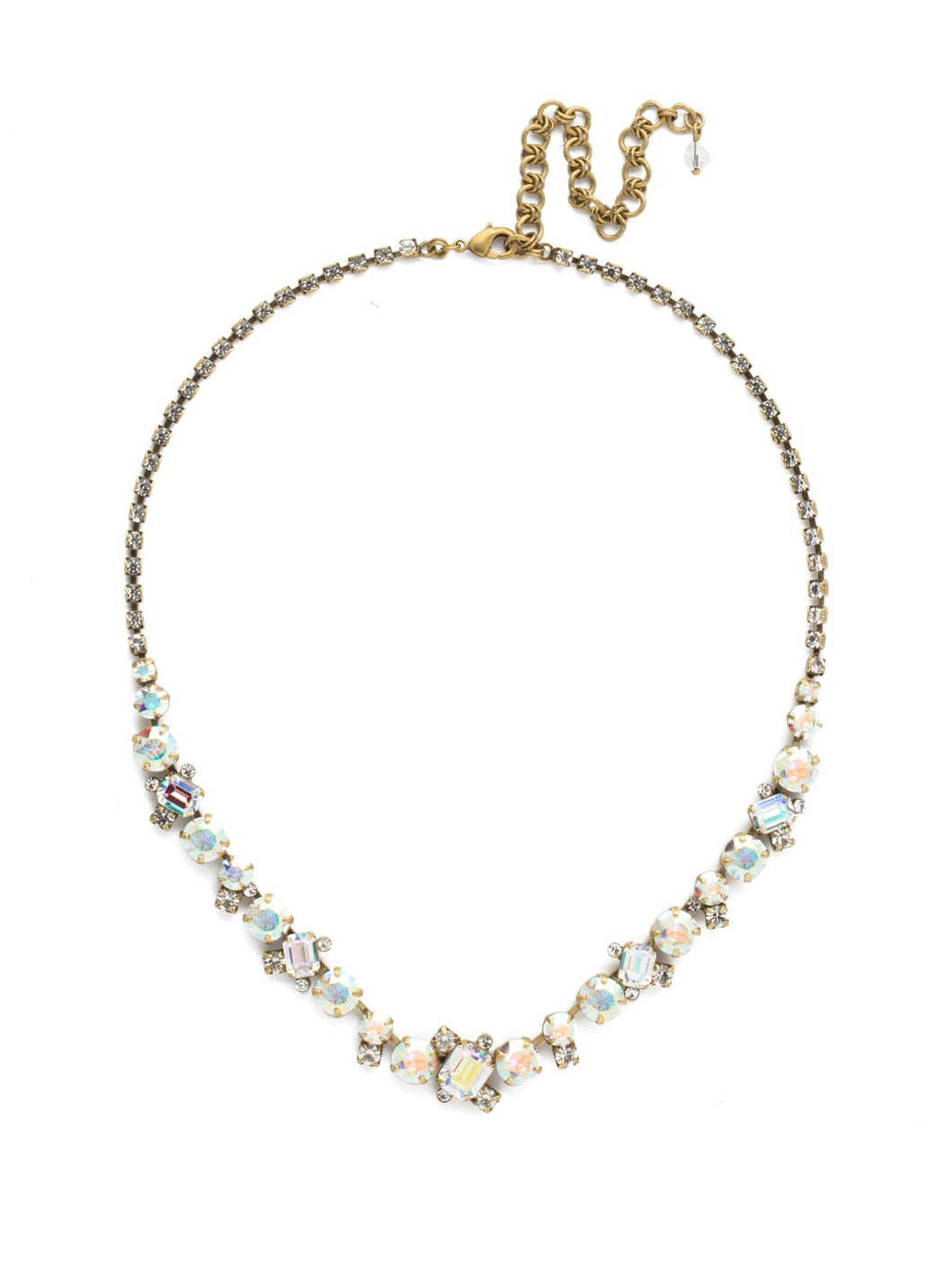 Sophisticate Classic Line Necklace (More Color Options)