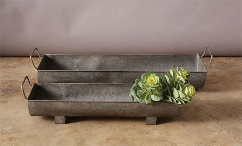 Galvanized Planters Trough
