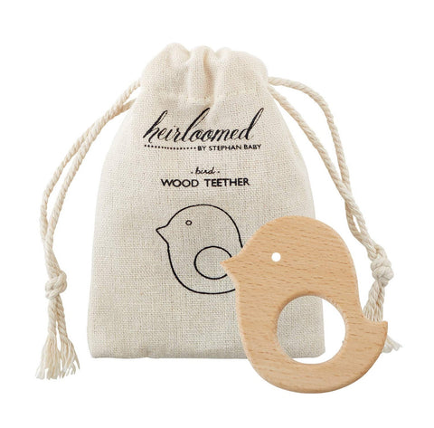 Heirloom Wood Teether (More Style Options)