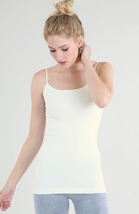 Seamless Strap Camisole (More Color Options)