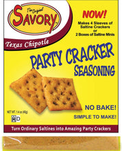 Load image into Gallery viewer, Savory Cracker Seasoning Mix (More Flavor Options)