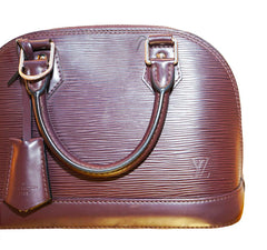 PLUM EPI LEATHER ALMA BB BAG