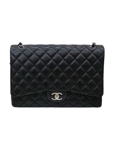 QUILTED LAMBSKIN CLASSIC DOUBLE FLAP BAG