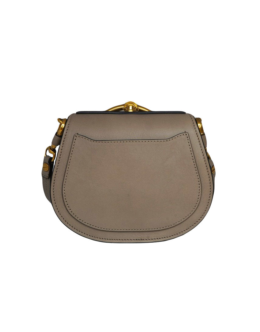 NILE GRAINY GREY SHOULDER BAG