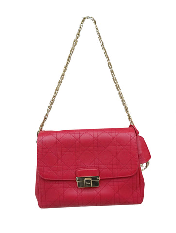 CANNAGE DIORLING HANDBAG IN RED LEATHER
