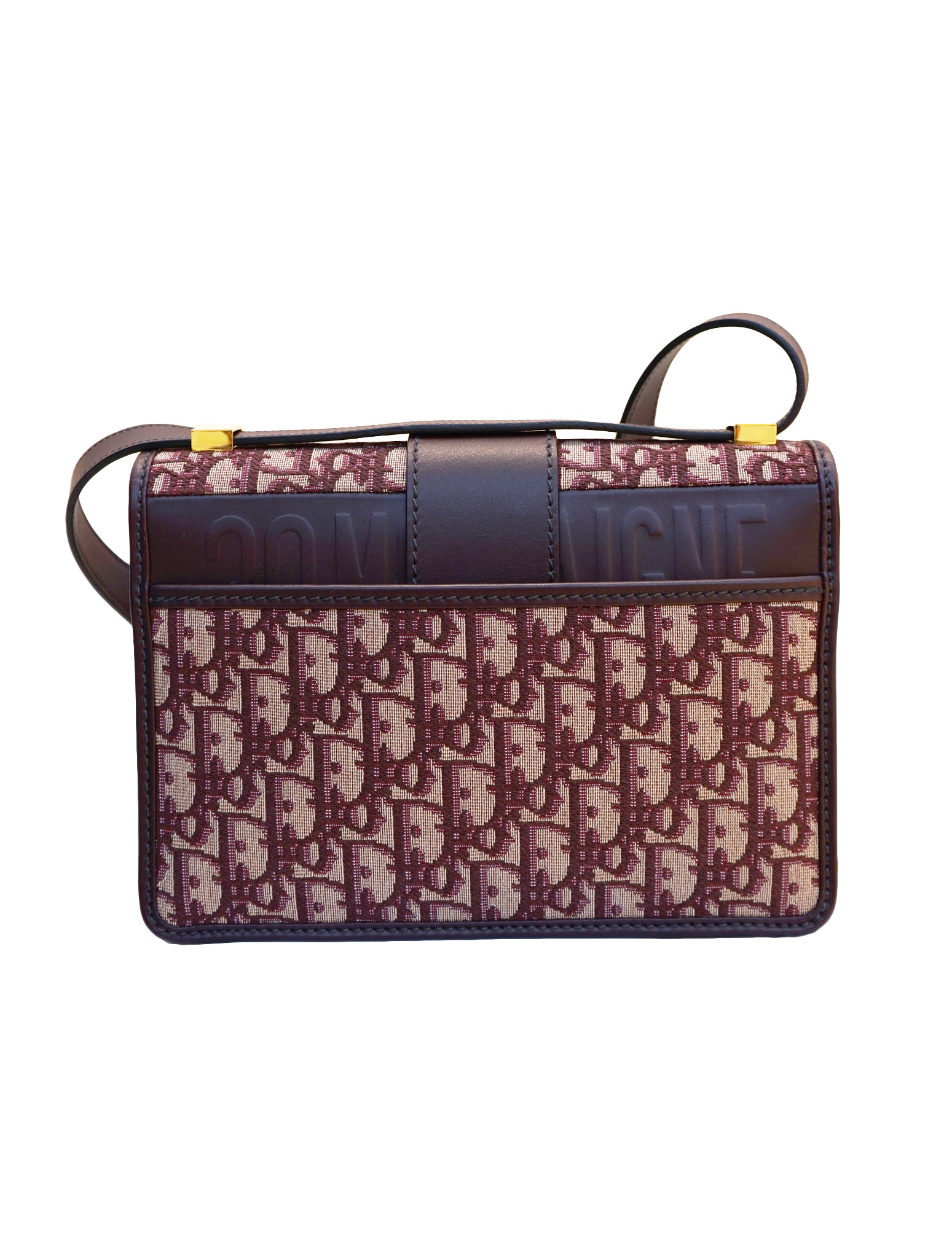 OBLIQUE JACQUARD 30 MONTAIGNE BAG