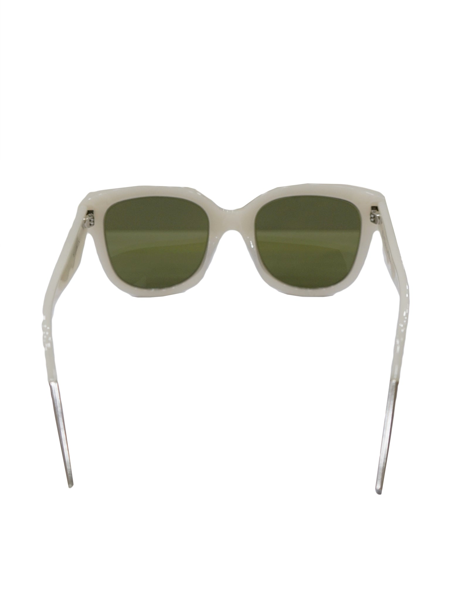 WHITE VERYDIOR 1N 6MAR SUNGLASSES