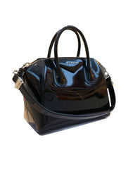 PATENT LEATHER ANTIGONA HANDBAG