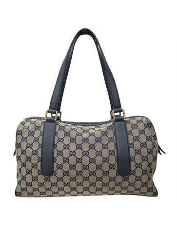 GG MONOGRAM BOSTON BAG