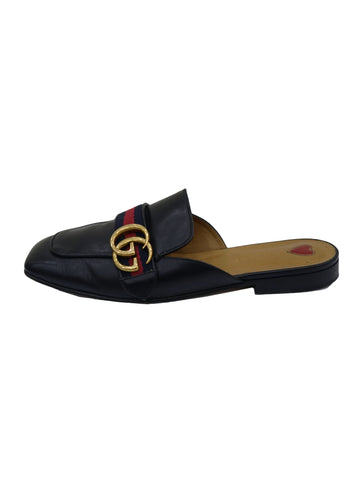 PRINCETOWN WEB DETAIL MULE LOAFERS