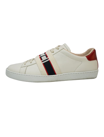 LEATHER ACE STRIPE SNEAKERS
