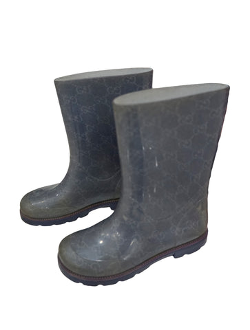 BOY RUBBER RAIN BOOTS
