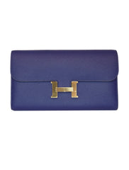 BLUE CONSTANCE LONG WALLET