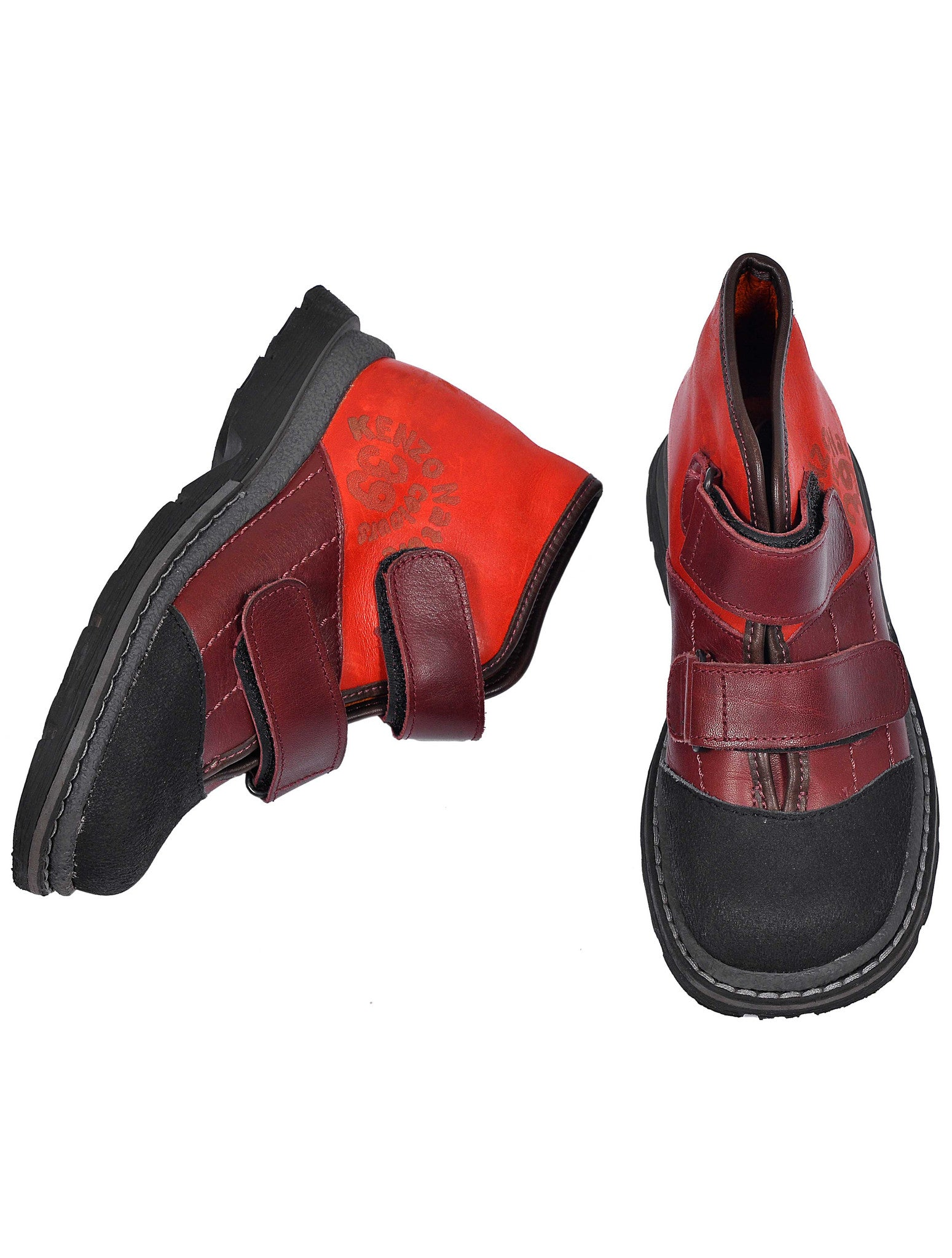 HIGH TOP LEATHER SHOES