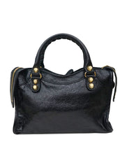 BLACK MINI CLASSIC CITY BAG