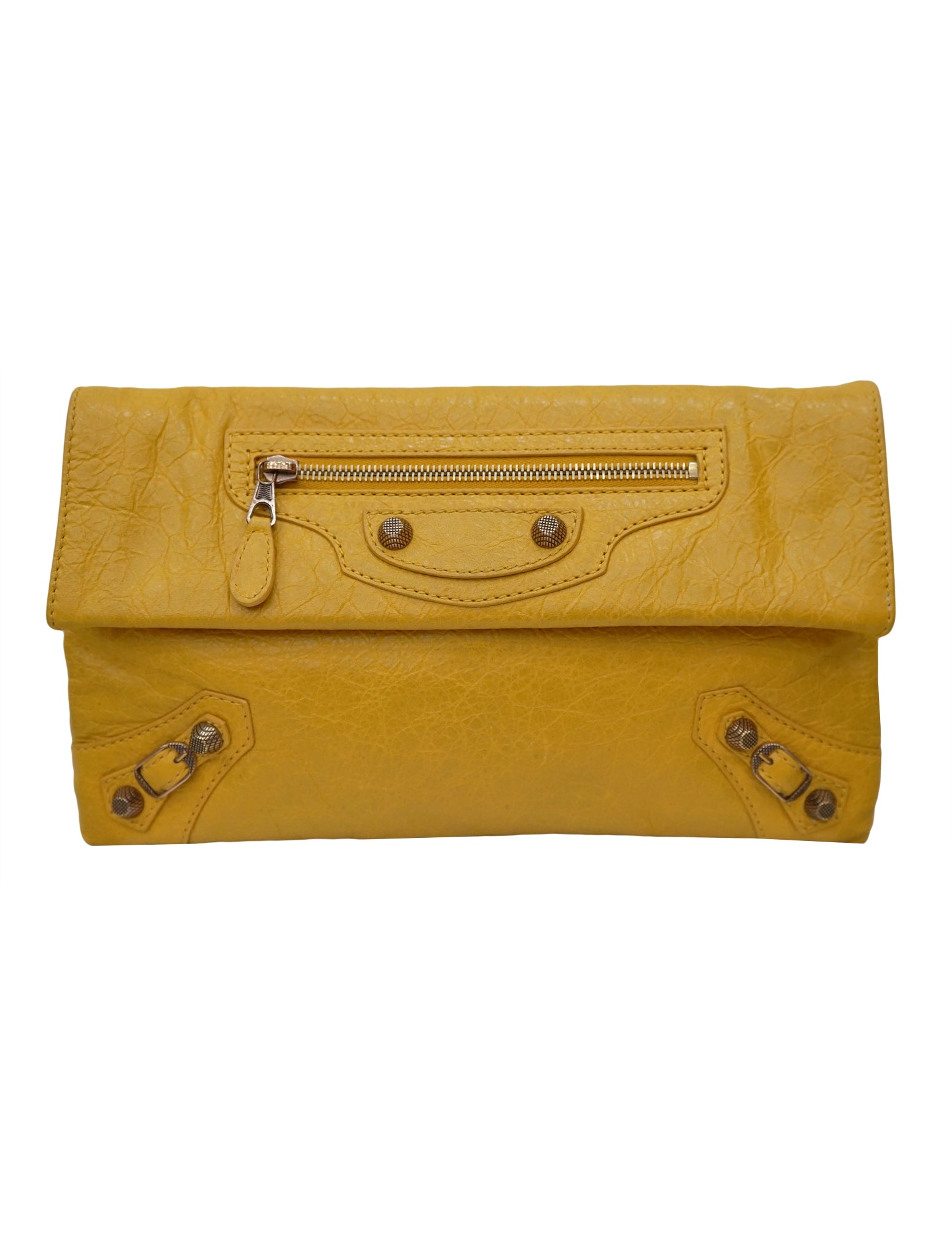 PROFOND LEATHER GSH ENVELOPE CLUTCH