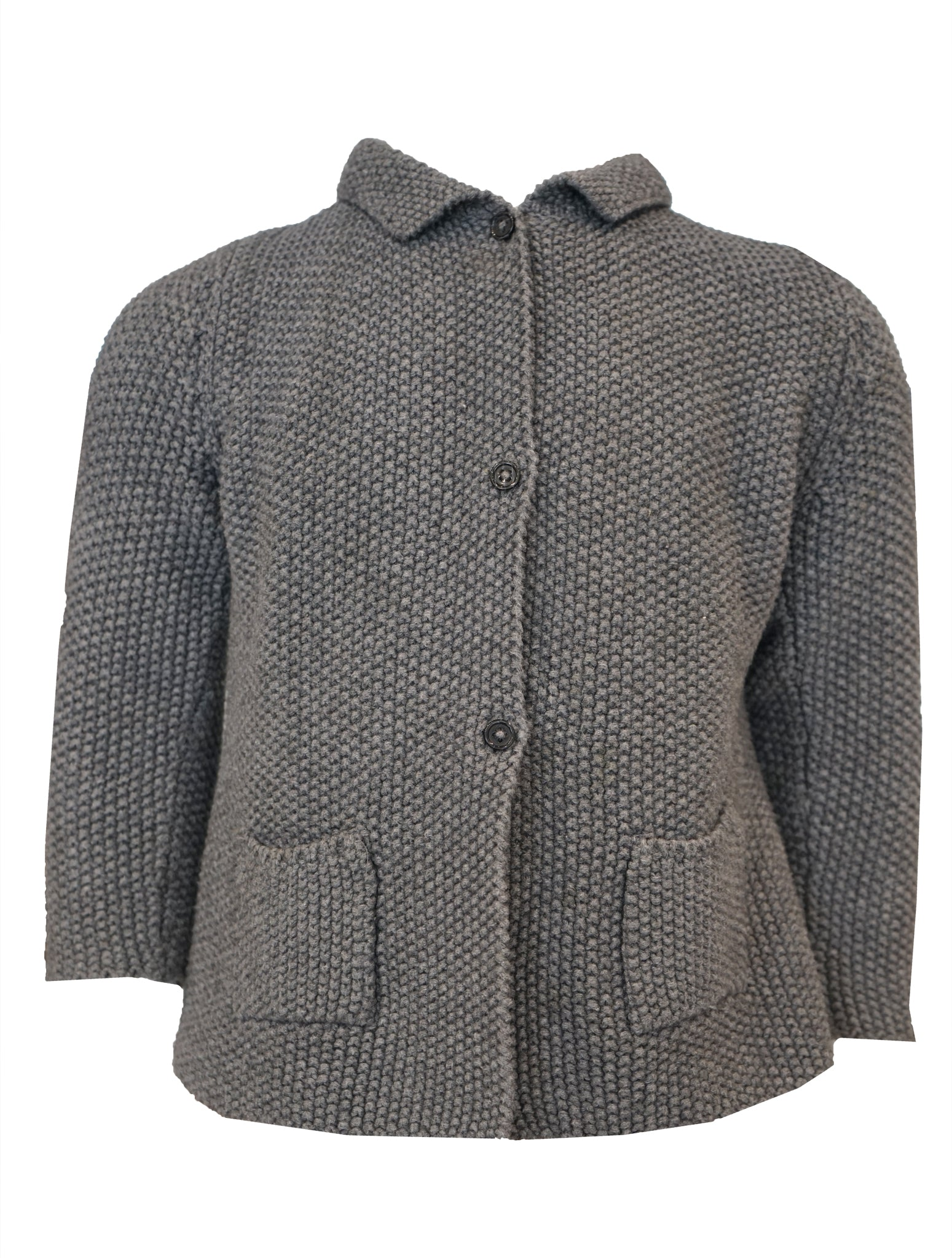 VESTE KNITTED CARDIGAN JACKET