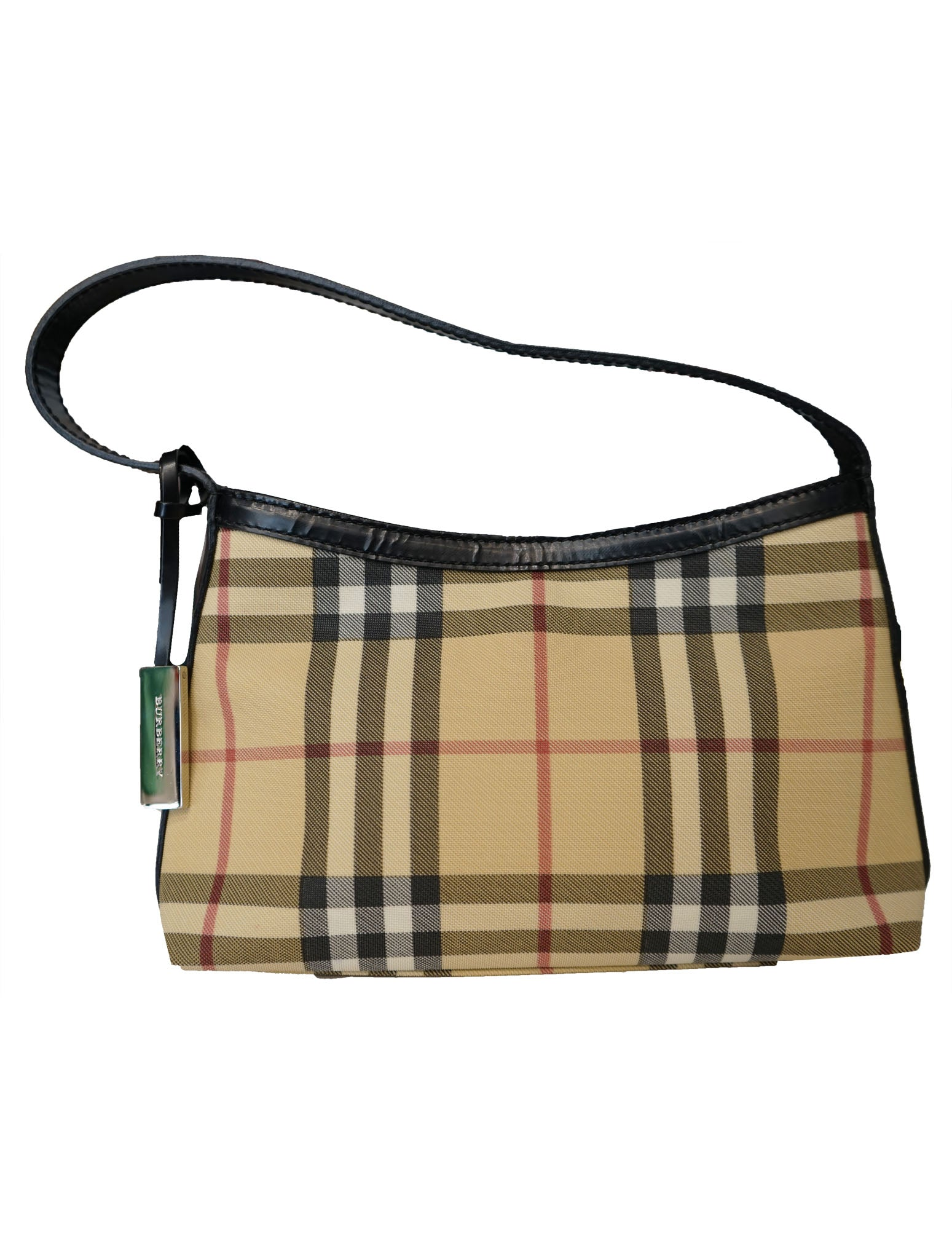550e62b48e74 PRE-LOVED LADIES DESIGNERS BAG BURBERRY NOVA CHECK SMALL SHOULDER ...