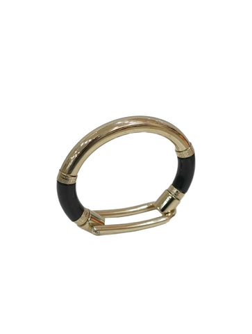GOLD PLATED HOOP BRACELET