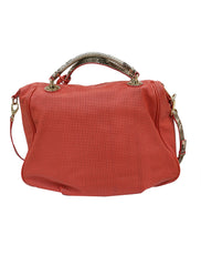 PERFORATED LEATHER BAG