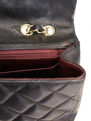 QUILTED LAMBSKIN MAXI CLASSIC DOUBLE FLAP BAG
