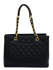 QUILTED CAVIAR LEATHER GRAND SHOPPING TOTE