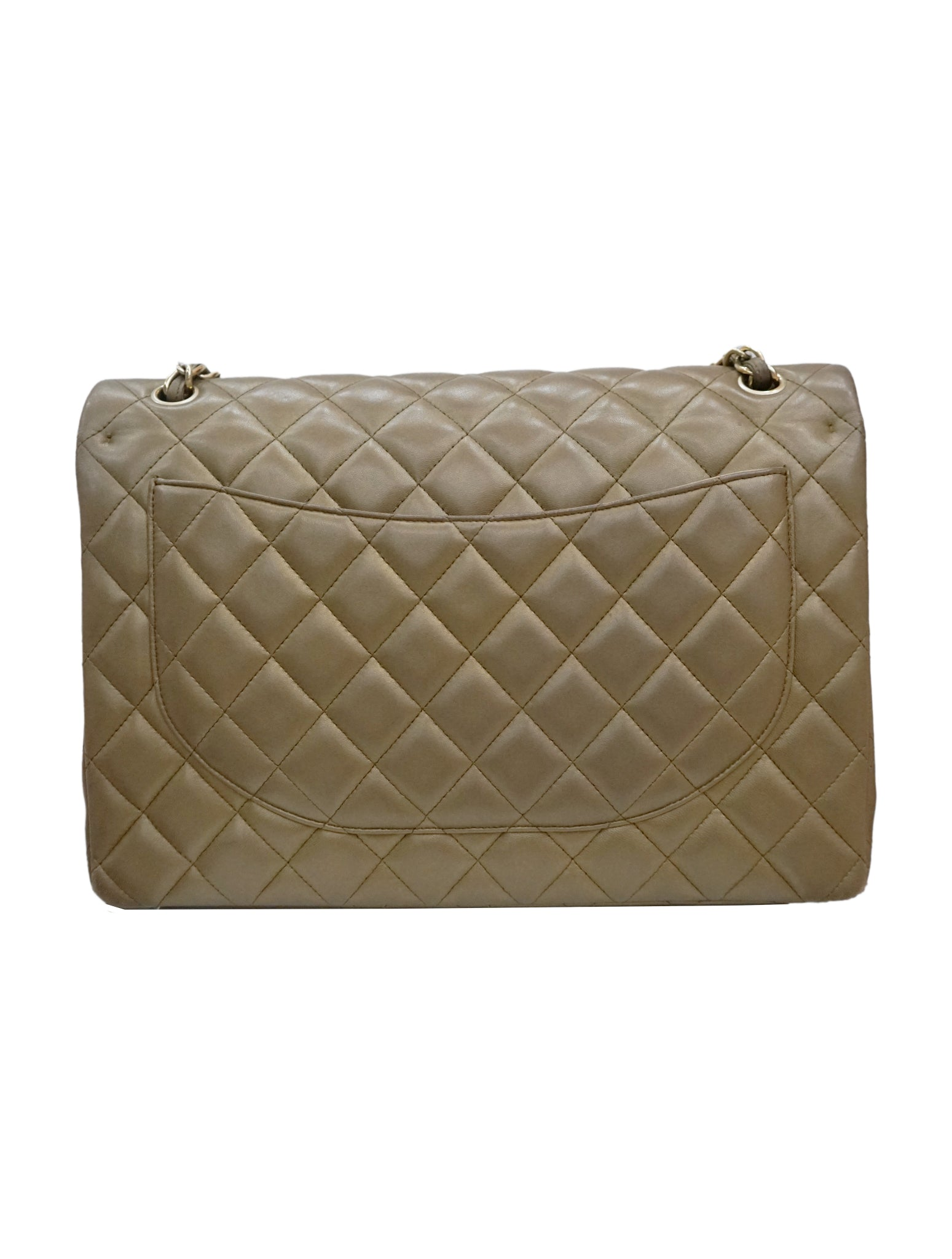 QUILTED LEATHER CLASSIC MAXI DOUBLE FLAP BAG