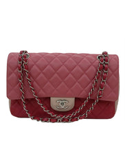 CLASSIC TRICOLOR QUILTED LAMBSKIN VALENTINE