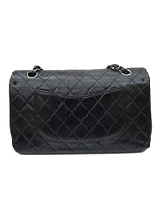 QUILTED LEATHER CLASSIC DOUBLE FLAP