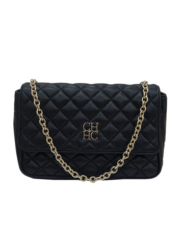 QUILTED LEATHER SHOULDER BAG