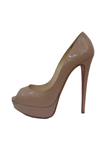 PATENT NEW VERY PRIVE PEEP TOE