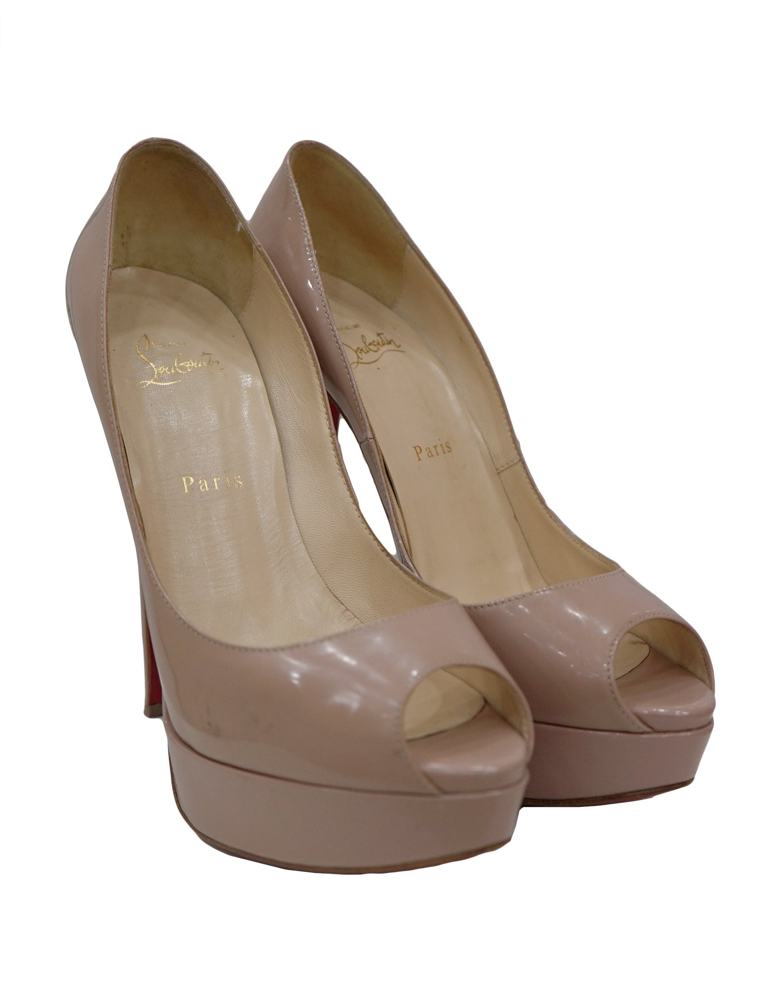 premium selection e14d3 5d07c PATENT NEW VERY PRIVE PEEP TOE