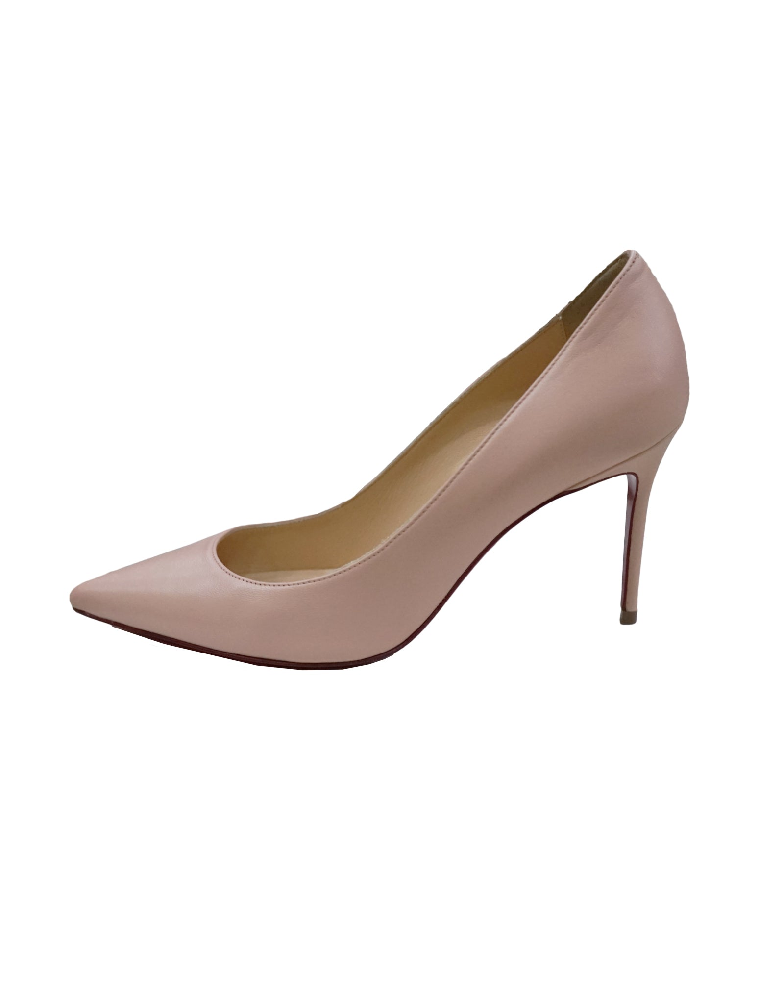 LIGHT PINK LEATHER SO KATE PUMPS
