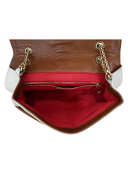 SWEET CHARITY LEATHER CHAIN BAG